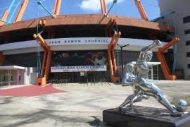 Estadio Juan Ramón Loubriel en Bayamón (Adriana De Jesús Salamán)