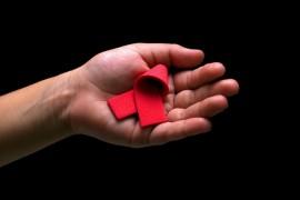 Lazo rojo VIH. (Suministrada)