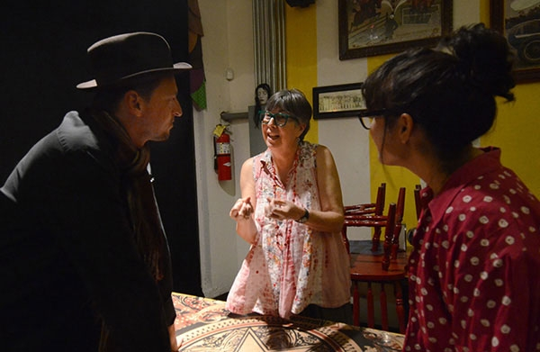 Rosa Luis Márquez en la obra Nuestra Señora de las Nubes
