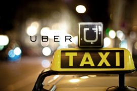 Uber. (Suministrada)