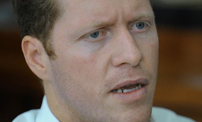 David Bernier, presidente de Comité Olímpico de PR/15 de noviembre 2011