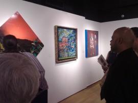 La exhibición estará abierta al público libre de costo desde el 5 de febrero hasta el sábado 11 de abril, en el edificio Barat Sur de la Universidad del Sagrado Corazón. (Melissa Torres-Diálogo)