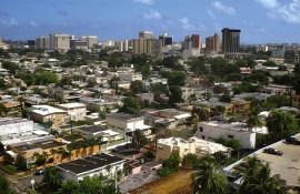 Vista del área de Hato Rey/abril 2004/foto por Ricardo Alcaraz /Diálogo
