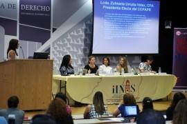 De izquierda a derecha: Zulmarie Urrutia, Annette Montoto, Wanda Otero, Sofía Stolberg, Ingrid Vila.