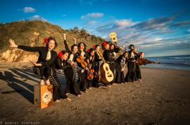 La banda de mariachi Flor de Toloache. (Suministrada / Andrei Averbuch)