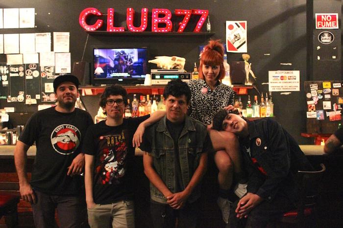 Los Pepiniyoz. De izquierda a derecha: Sergio, Luis, René, Zuania y Giancarlo. (Adriana De Jesús Salamán / Diálogo)