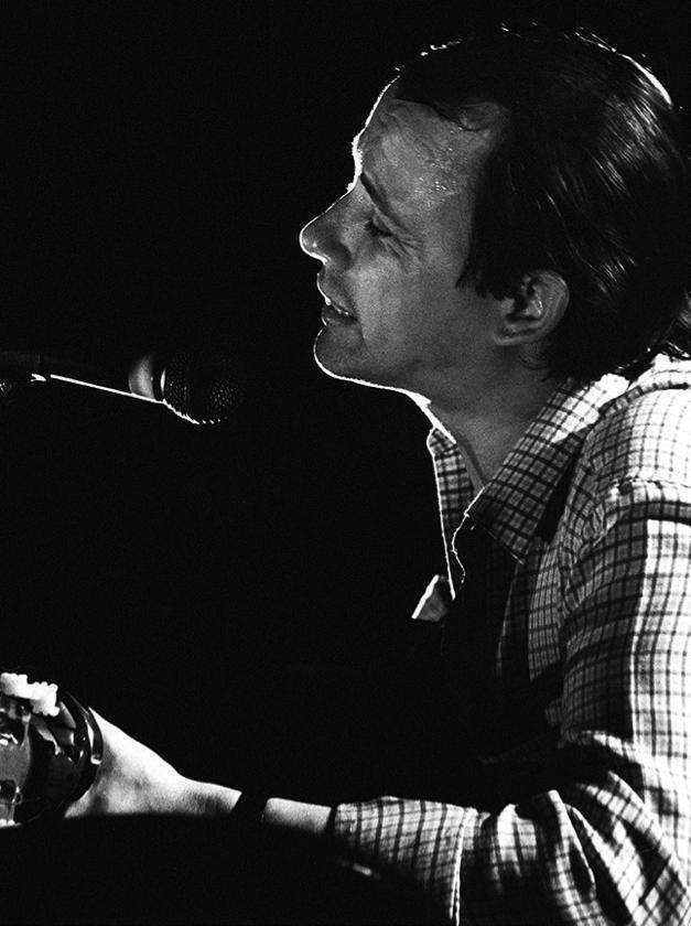 Silvio Rodríguez, 1982. (Ricardo Alcaraz / Diálogo)