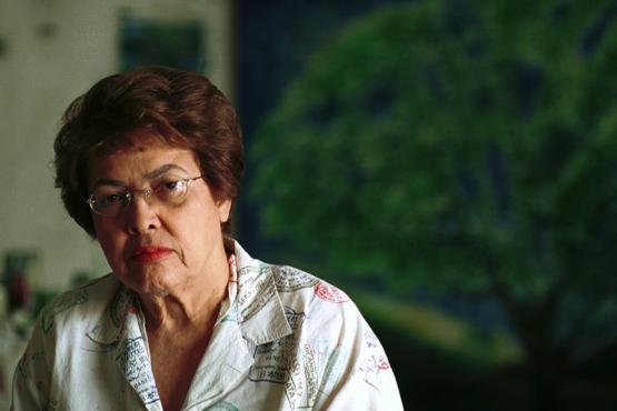 Myrna Báez, 2001. (Ricardo Alcaraz / Diálogo)