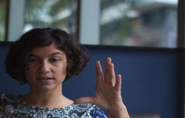Vilma López productora de la otra intención (Ivana Alonso / Diálogo)