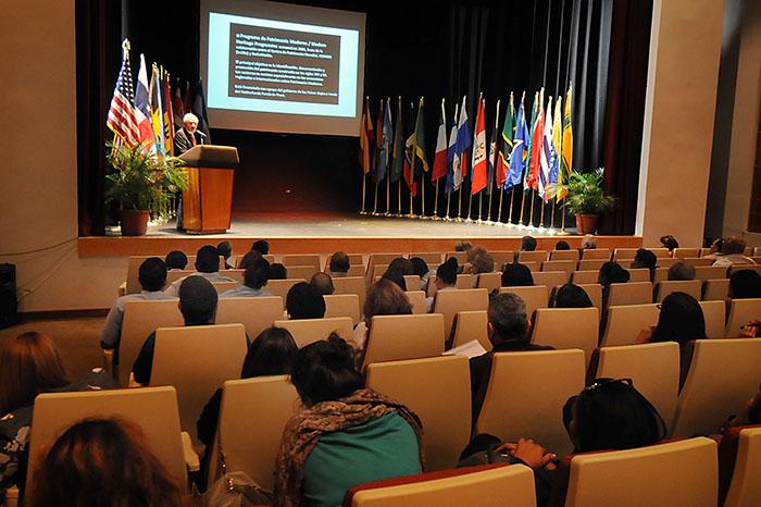 Foro en Escuela de Derecho Interamericana (Ricardo Alcaraz/ Diálogo)