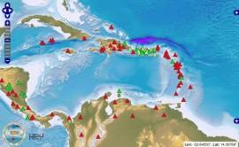 El ejercicio simulará una situación extensa de aviso de tsunami para todo Puerto Rico e Islas Vírgenes, generado por un terremoto regional de magnitud 8.5 en el Mar Caribe. (Red Sísmica de Puerto Rico)