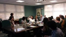 Conferencia en la Universidad de Puerto Rico en Cayey (Suministrada)