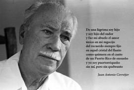 Juan Antonio Corretjer en una entrevista realizada en abril de 1980. (Ricardo Alcaraz Díaz / Diálogo)