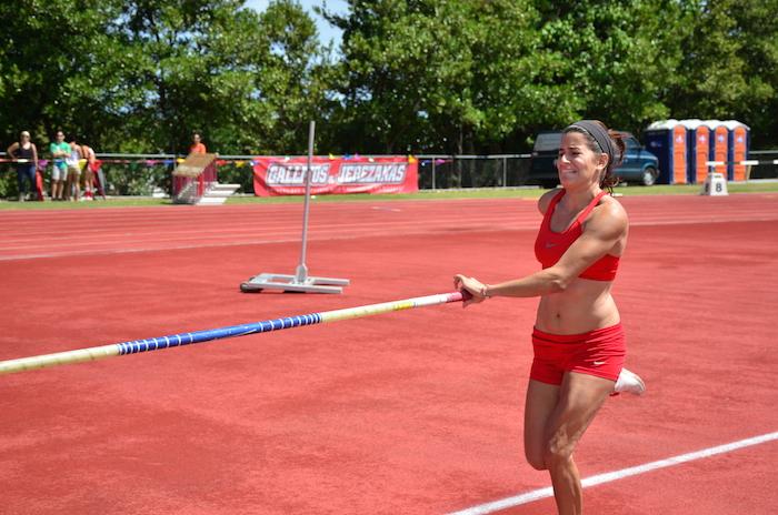 Diana Laboy, del Recinto de Río PIedras, buscará la medalla de oro en las justas de la LAI. (David D. Pérez)