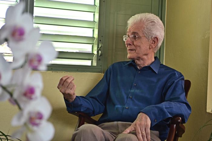El historiador Gervasio García