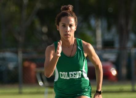 Dayleen Santana, atleta del RUM