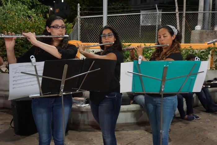 Conjunto de Flautas UPR en concierto en Culebra
