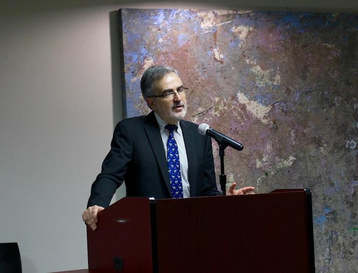 Historiador y profesor de la Universidad Jaime I en España, José Antonio Piqueras. (Adriana de Jesús Salamán/ Diálogo)