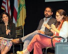 Una de las conferencias que se llevó a cabo en la Cumbre Cultural Puerto Rico 2015