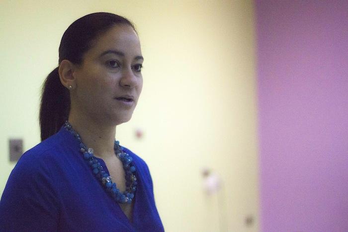 Yanira Carmona, directora del nuevo centro de servicios integrados del Recinto de Ciencias Médicas. (Ivana Alonso / Diálogo)