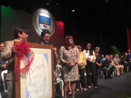 La Profa Ramos recibe  reconocimiento en Cuadro de Honor de UPR-Cayey.