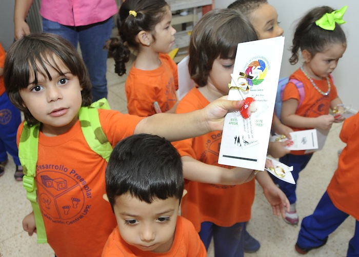 Visita Niños del Preescolar UPR