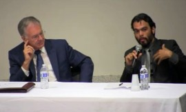 Oscar Serrano habla del acceso a la información pública.