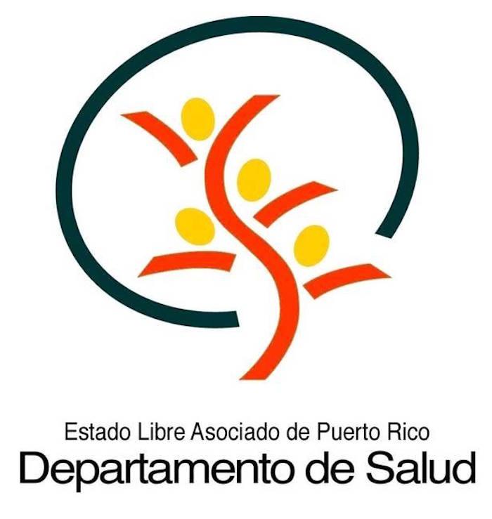 El logo oficial del Departamento de Salud de Puerto Rico. (Facebook)