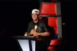 Daddy Yankee en el programa Idol Kids (Facebook)