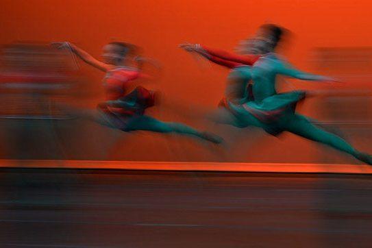 Balleteatro Nacional, en uno de los movimientos de Celtic Fire