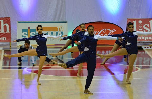 Grupo de baile UPR Bayamón.