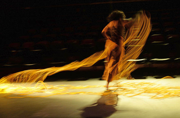 La bailarina puertorriqueña Alejandra Martorell .