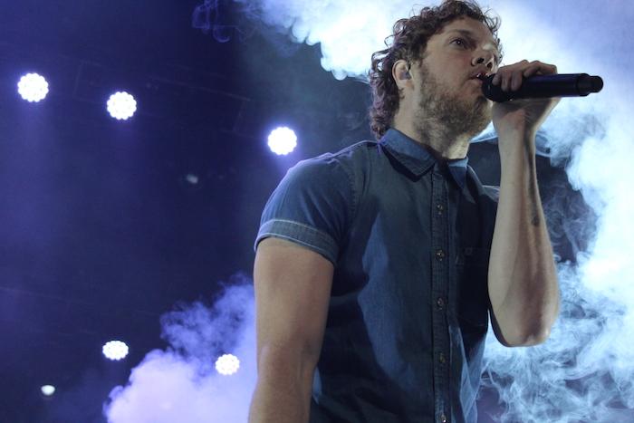 Dan Reynolds, vocalista de Imagine Dragons. (Nicole García Pérez / Especial para Diálogo).