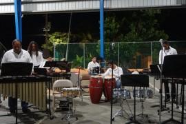 Conjunto de Percusión de la UPR-RP en presentación en Culebra. (Suministrada)