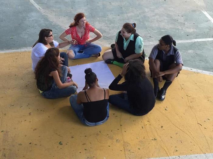 Participantes de taller ofrecido por el CUA-RP (Suministrada)