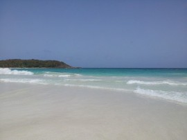 Playa de Vieques. (Suministrada)