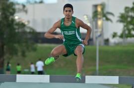 Giancarlo Báez, atleta del RUM
