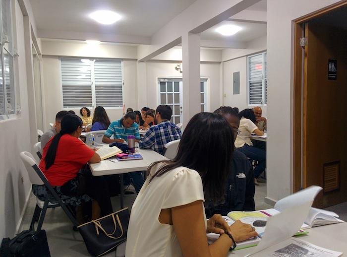 Proyecto de alfabetización del Caño Martín Peña