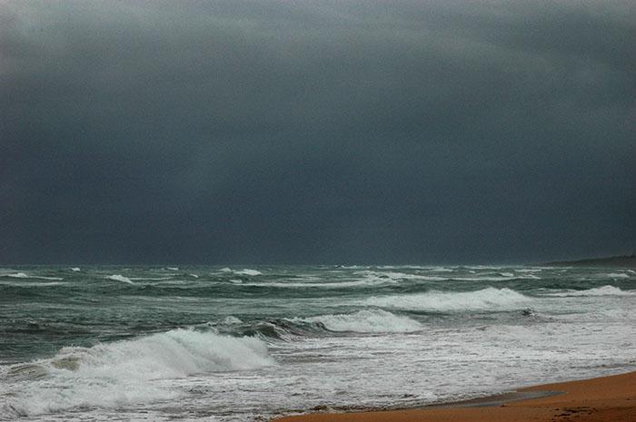 Mar picao y aguacero 2