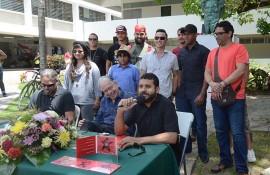 Tito Román habla en conferencia de prensa sobre concierto dedicado a Betances