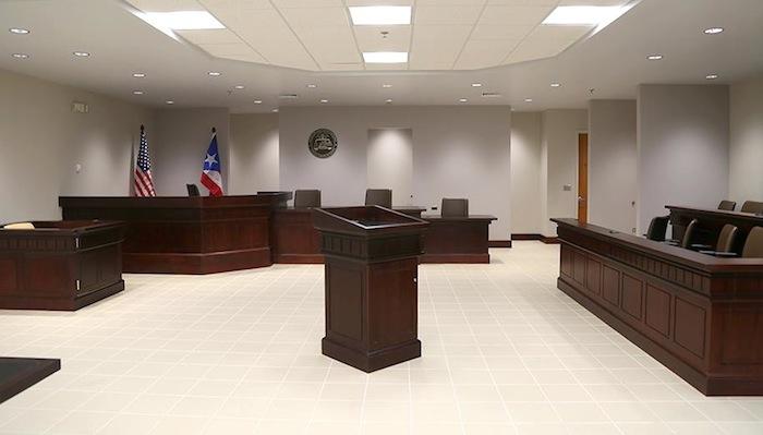 Sala del tribunal (Suministrada)