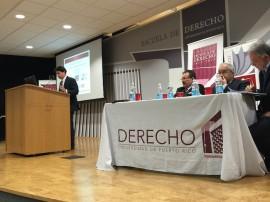 Foro sobre el IVA en la Escuela de Derecho de la UPR. (Cristian Arroyo/ Diálogo)