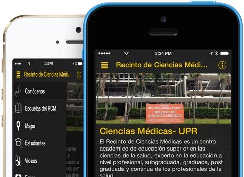 La aplicación del RCM se puede descargar gratuitamente en el App Store de Apple y proximamente estará disponible en Google Play para los androides (Suministrado)