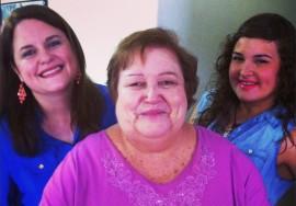 Milvia Archilla, su mamá Jovita Rivera y su hija Miledis Sánchez. (Suministrada)