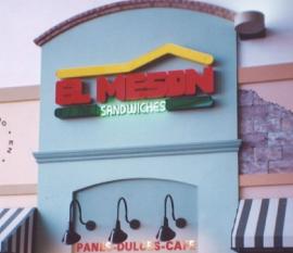 Un restaurante de El Mesón Sandwiches. (Suministrada)