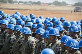 Fuerzas de paz de la Organización de las Naciones Unidas. (Suministrada)