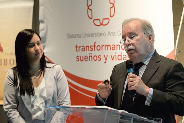 Anitza Cox y Joaquín Villamil