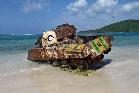 Tanque abandonado