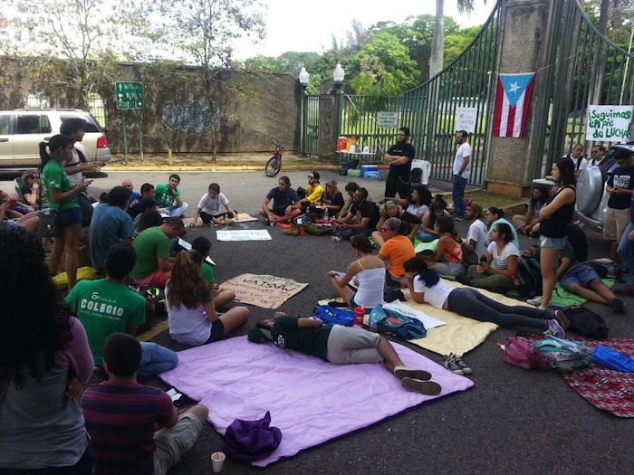 Estudiantes del RUM en paro de 24 horas