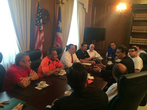 Diálogo pudo entrar a la reunión en el Capitolio.